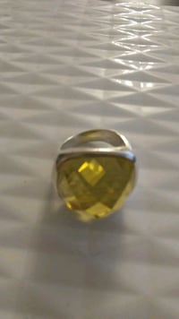 925 silver ring with citrine . Toronto, M6B 3H9