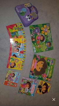Dora the explorer book collection