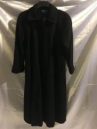 Long Black ladies full length winter coat