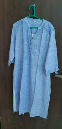 blue v-neck long sleeve kurti Mumbai