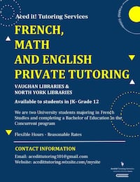 Private Tutor Vaughan