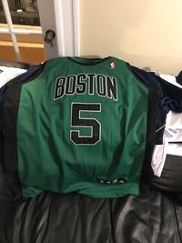 Boston Celtics authentic green size 52 men's jersey authentic stitched letters and numbers paid 250.00 yours for 100.00 Medford, 02155