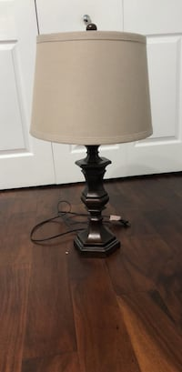 black and white table lamp Miami, 33196
