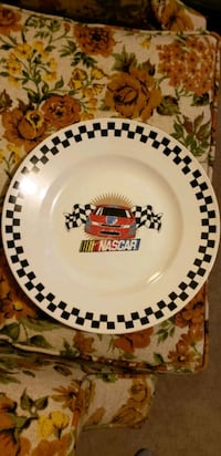 Gibson nascar plate collection item