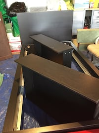 Single ikea bed with storage drawers  Edmonton, T6A 1P5