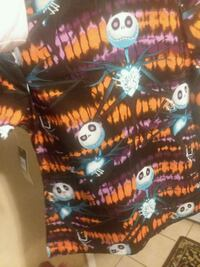 NightMare Before Christmas Scrub Top $8 Each 3, 2 Smalls, 1 ExtraLarge