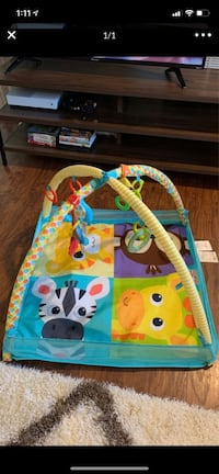 Baby play mat/activity gym