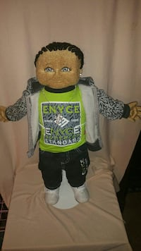 male soft sculpture  doll Claxton, 30417