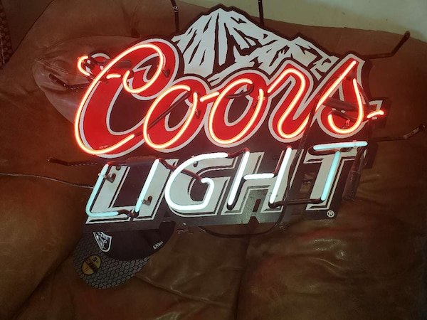 Coors sign