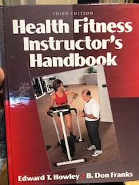 Health Fitness Instructor's Handbook By B. Don Franks - Howley Dollard-des-Ormeaux, H9A 2J9