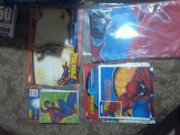 Party set spiderman balloon, gift bags, cards Ect. Bloomington, 92316