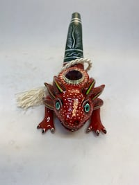 Hand painted Pipe