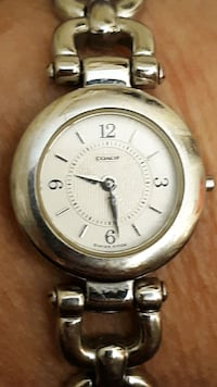 Name brand silver watch Greer, 29651