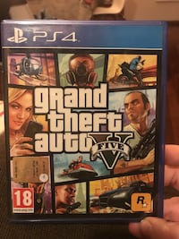 Custodia Grand Theft Auto Five per PS4 Milano, 20139