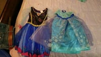Elsa and Anna Dress up size 4-6x Libertytown
