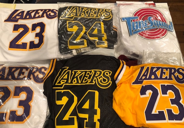 finest selection 0facf 7fbda Lebron / Mamba / Toonsquad jersey! $20 for 1, $90 for all!