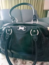 black leather 2-way bag Halton Hills, L0P