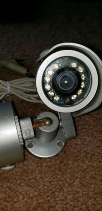 3.6mm analog security camera