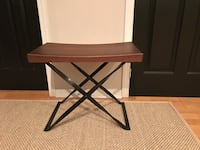 Pottery Barn solid wood side table  Toronto, M5V 3N6