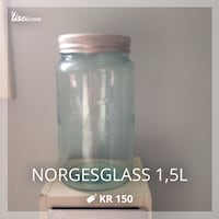 Norgesglass 1,5l Oslo, 1160