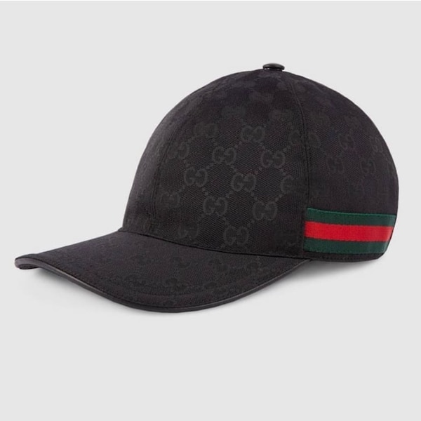 black and red Gucci cap. HomeUsed Fashion and Accessories in New York Used  Fashion and Accessories in New York fb5d2d7db101