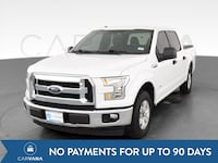 2017 Ford F150 SuperCrew Cab pickup XLT Pickup 4D 5 1/2 ft White Petersburg