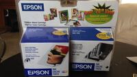 two Epson ink cartridge boxes Los Angeles, 91343