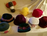New handmade crochet hats
