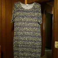 women's white and black floral dress Blairsville, 30512