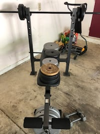 black and gray elliptical trainer Columbus, 43017