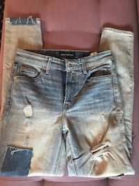 Lucky Brand High Rise Skinny Jeans Size 25 Surrey