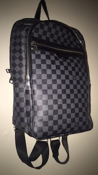 damier graphite Louis Vuitton leather backpack Hope Mills, 28306