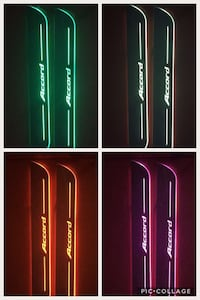 Honda Accord led sill plates