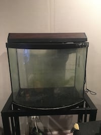 black framed clear glass fish tank Gaithersburg, 20882