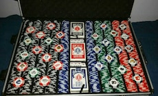 Collectors 2009 Clay N.H.L Poker Chips Set
