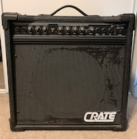 CRATE Guitar Amp and distortion pedal