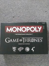 game of thrones monopoly game Avoca, 18641