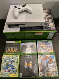 Xbox One S 1TB console with 6 games 405 mi