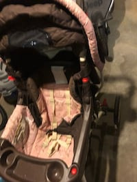 baby's pink and brown stroller Richmond, 23225