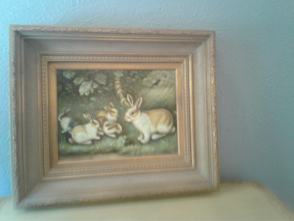 Rabbit Painting by Prestige Arts Mesquite