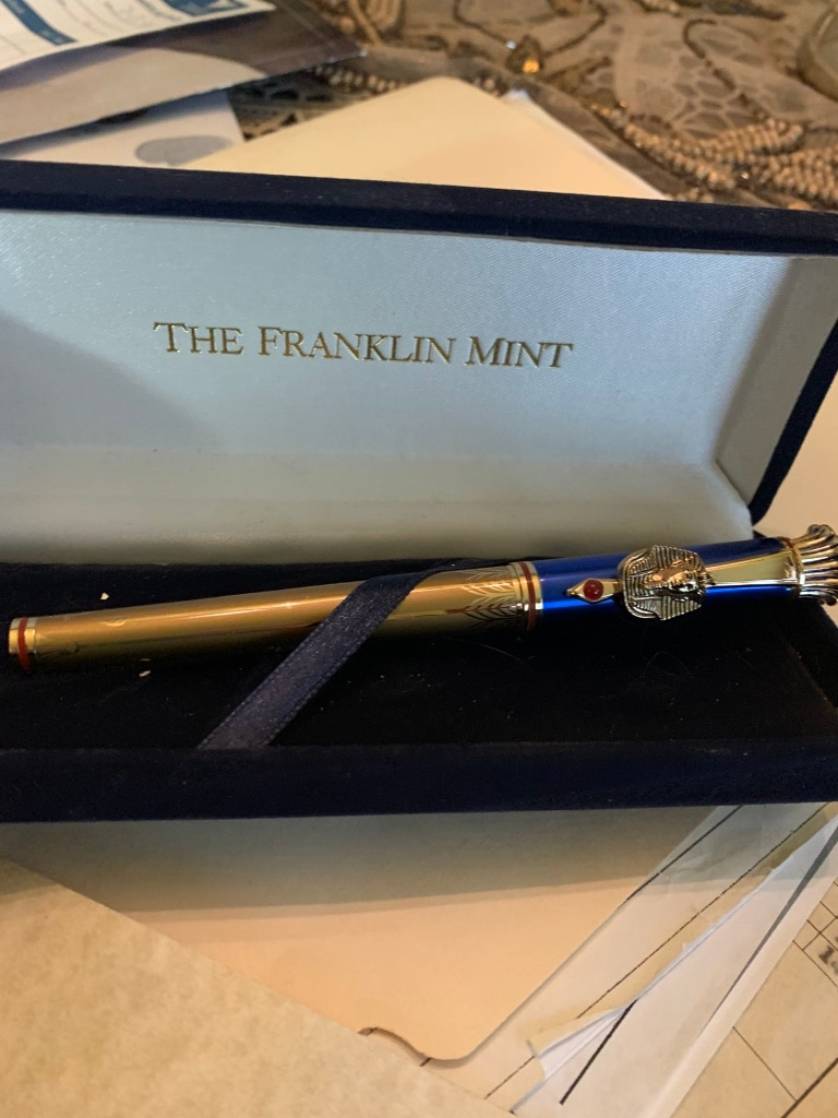 Photo Franklin mint collectible