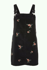 BNWT VELVET EMBROIDERED OVERALL DRESS Toronto, M5B 2H5