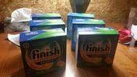 Finish dishwasher 25gel packs   London, N5Y 2N8