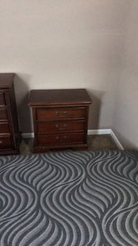 Nightstands solid wood Basset(2 Available) Lincoln, 95648