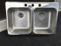 stainless steel sink with faucet Bradford West Gwillimbury, L3Z