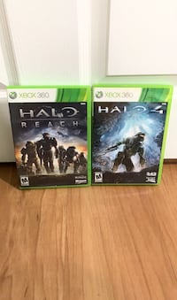 Xbox 360 Halo game bundle halo reach and halo 4