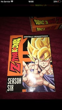 Dragonball Z season 6 on dvd