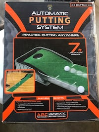 Automatic putting system - with box Maple Ridge, V4R