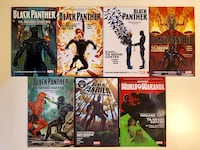 Black Panther Graphic Novels Washington, 20011