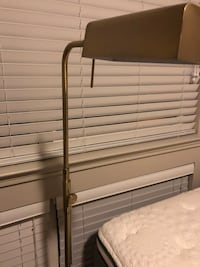 Gold floor lamp Irving, 75039